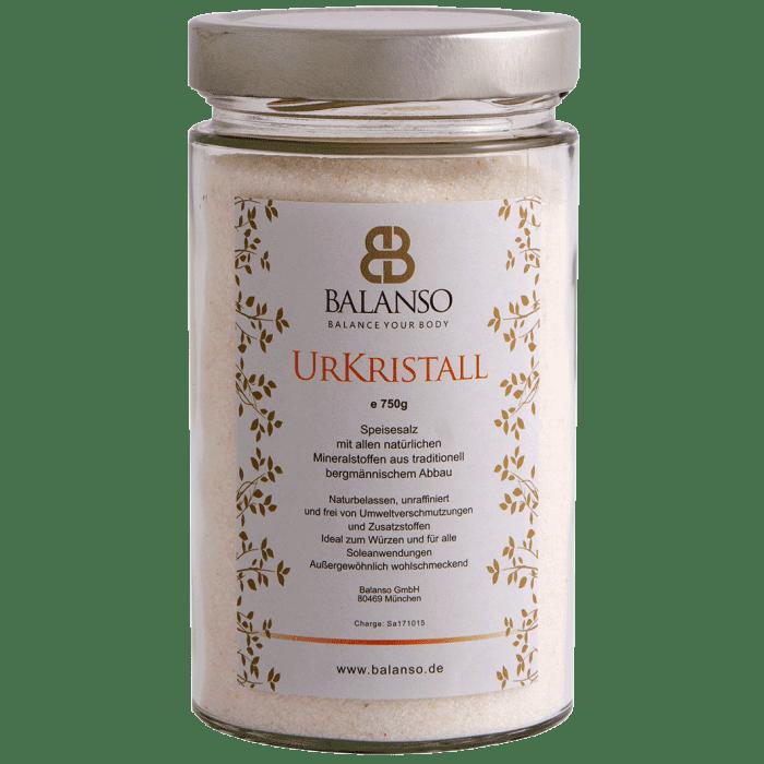 UrKristall Speisesalz 750g im Glas Sparpaket 15+5