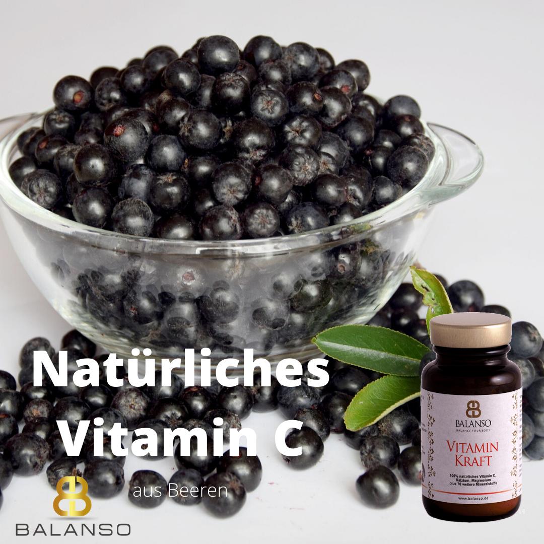 Natürliches Vitamin C aus Beeren