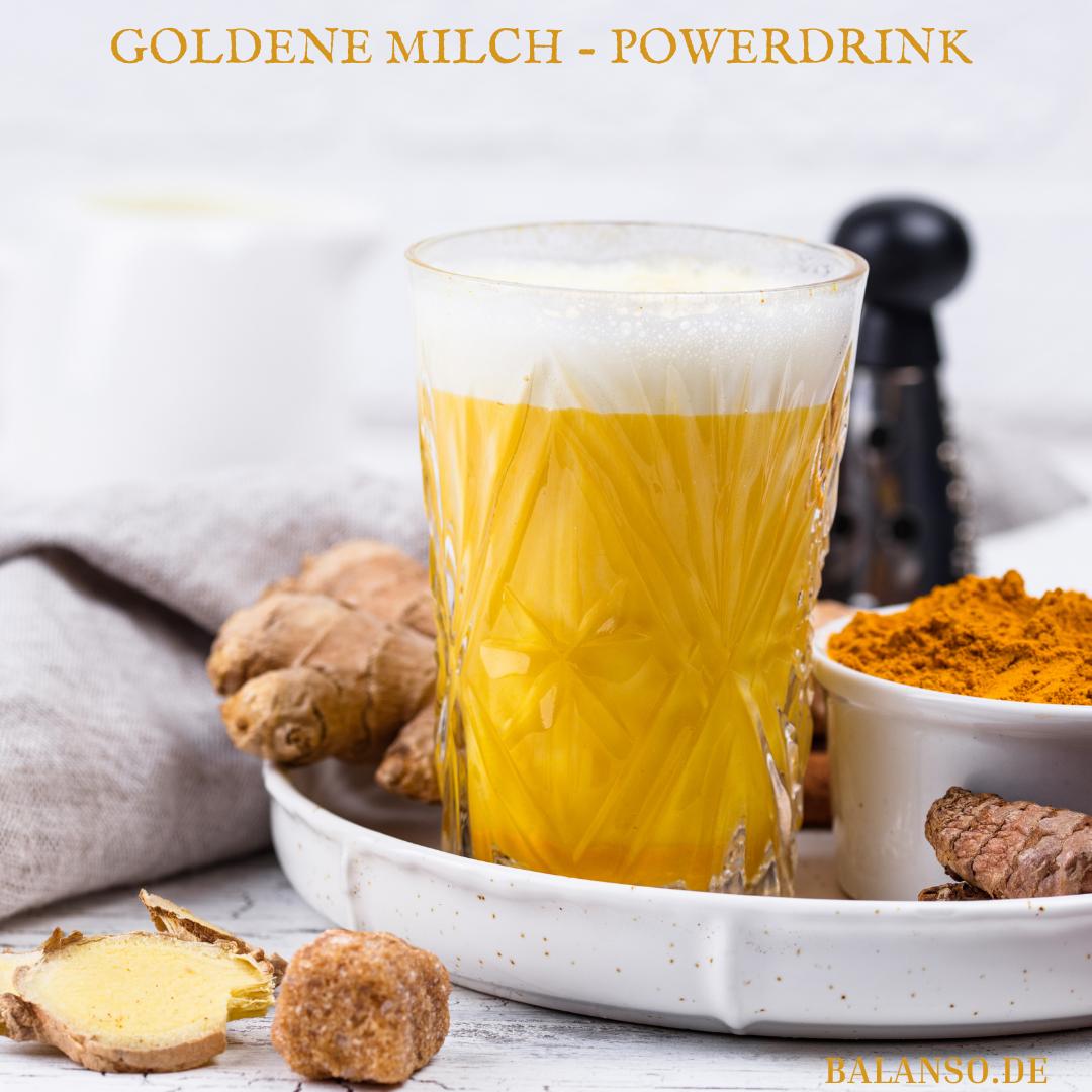 Goldene Milch – Power Drink