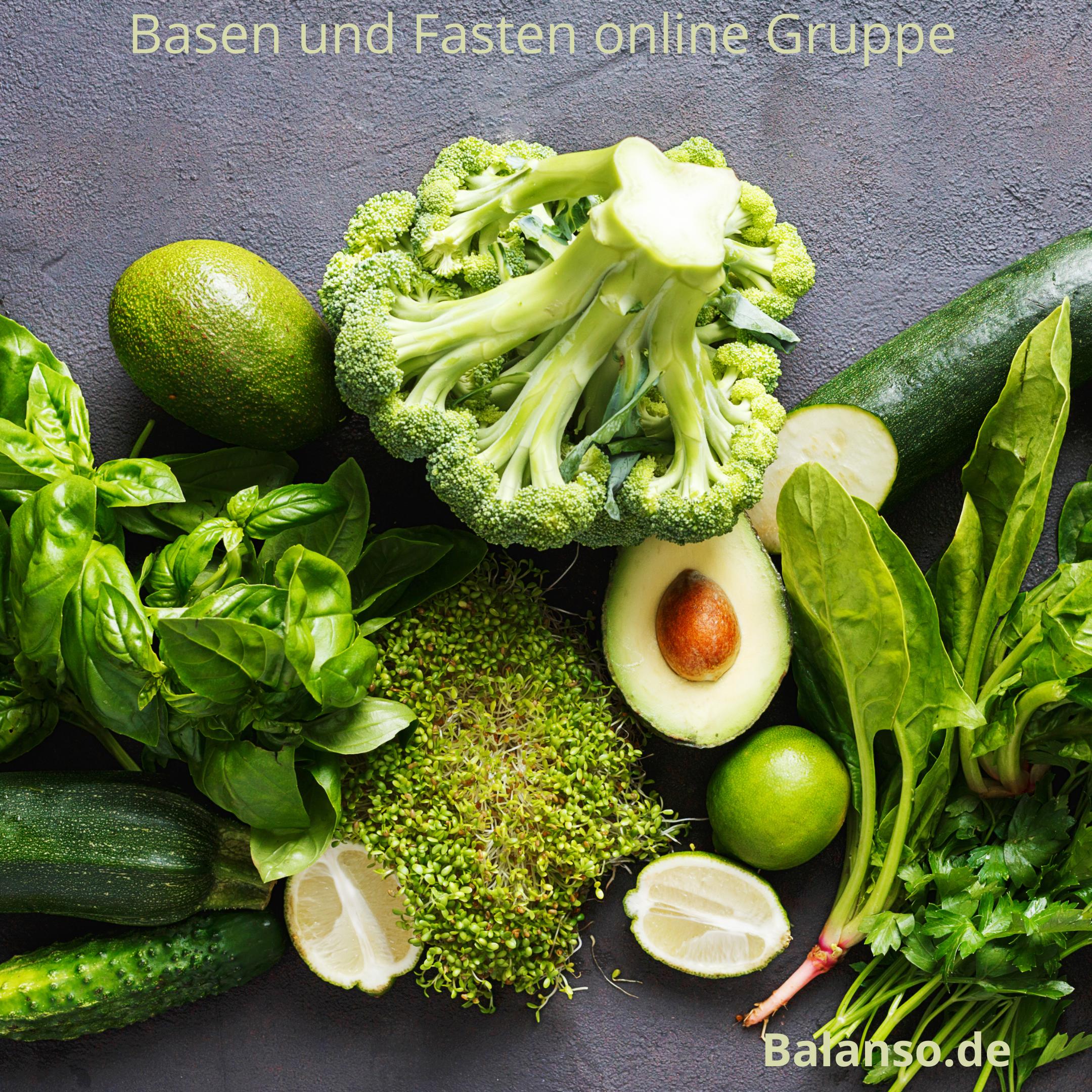 Basen und Fasten Kurse – online Fastengruppe