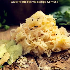 Sauerkraut basische Rezepte balanso.de