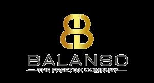 Balanso Basenbad im Glas